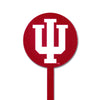 NCAA Indiana Hoosiers STEEL Garden Stake- Red