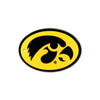 NCAA Iowa Hawkeyes Metal Super Magnet-Oval