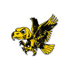NCAA Iowa Hawkeyes Metal Super Magnet- Old School Flying Herky