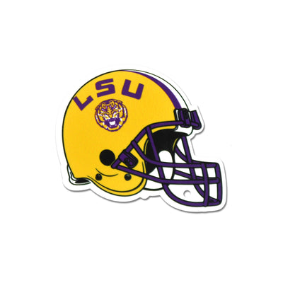 NCAA LSU Tigers Metal Super Magnet-Football Helmet
