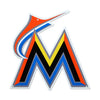 Miami Marlins STEEL 12 Inch MLB Logo Sign