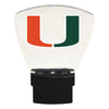 NCAA Miami Hurricanes LED Night Light