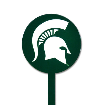 NCAA Michigan State STEEL Garden Stake- Green