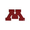 NCAA Minnesota Golden Gophers Metal Super Magnet-Solid Maroon M