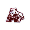 NCAA Mississippi State Bulldogs Metal Super Magnet- Dog over M Logo
