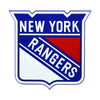 New York Rangers STEEL 12 Inch NHL Logo Sign