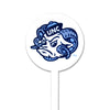 NCAA North Carolina STEEL Garden Stake- Mascot