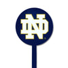 NCAA Notre Dame STEEL Garden Stake- ND Navy Background
