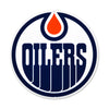 Edmonton Oilers STEEL 12 Inch NHL Logo Sign