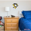 Pittsburgh Penguins STEEL 12 Inch NHL Logo Sign