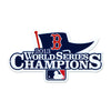 Boston Red Sox Laser Cut Steel Logo Spirit Size-WS 2013 Champions