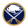 Buffalo Sabres STEEL 12 Inch NHL Logo Sign