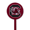 NCAA South Carolina STEEL Garden Stake- Red