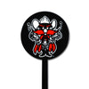 NCAA Texas Tech STEEL Garden Stake- Black