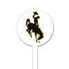 NCAA Wyoming STEEL Garden Stake- Primary
