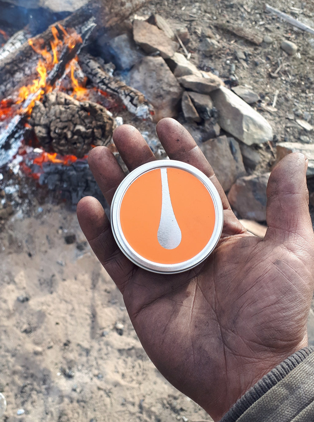 Pine Resin Infused Firestarter
