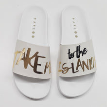 Take Me To The Islands Slide Shoes - PAREOO