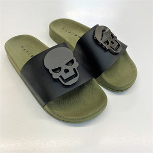 Skull Metal Badge Slides - PAREOO
