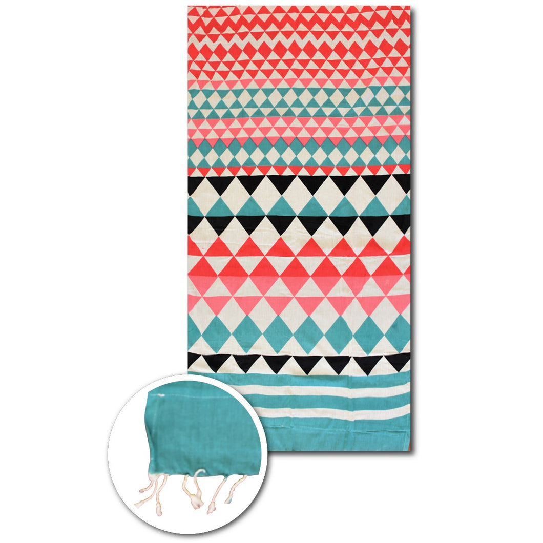Triangle Beach Towel