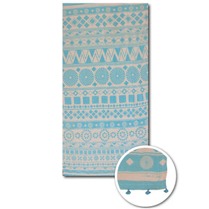 Pattern beach towels - PAREOO