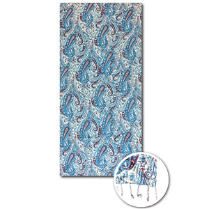 Paisley beach towels
