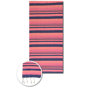 Fluorescente sunset beach towel - PAREOO