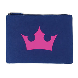 Neon Pink Crown Clutch - PAREOO