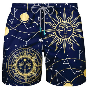 MEN SWIMWEAR ASTRO SIGNS - PAREOO