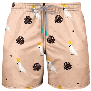 MEN SWIMWEAR COCKATOO BEIGE - PAREOO
