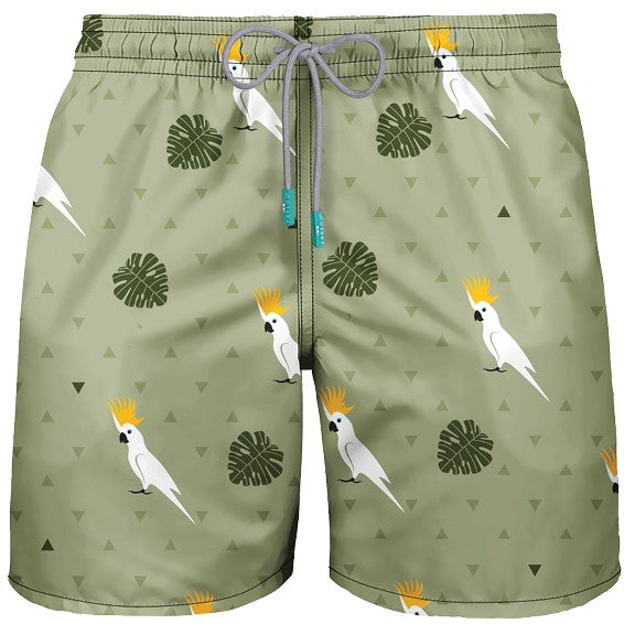 MEN SWIMWEAR COCKATOO MOJITO GREEN - PAREOO