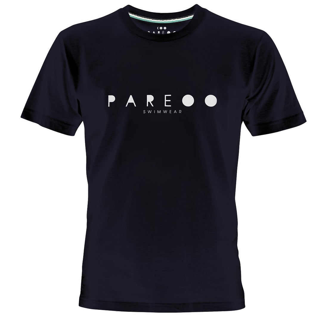 PAREOO LOGO PRINT MEN T-SHIRT - PAREOO