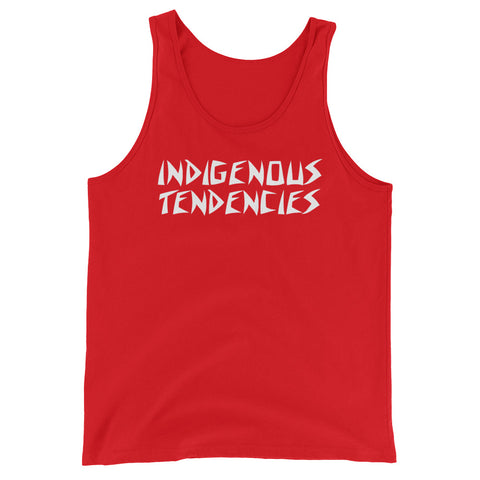 """Indigenous Tendencies"" Men's Tank"