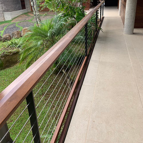 Post & Cable Railing System