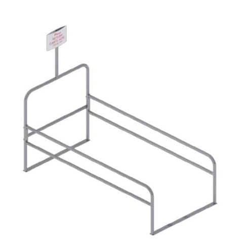 OUTDOOR CART CORRAL