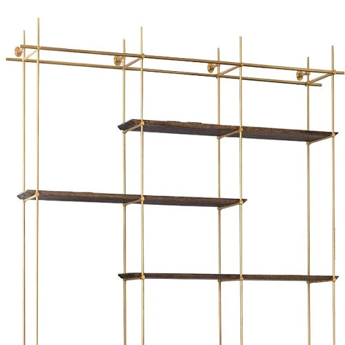 Brass shelve model