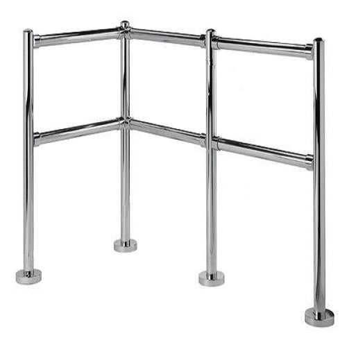 Stainless Steel Cart Corrals