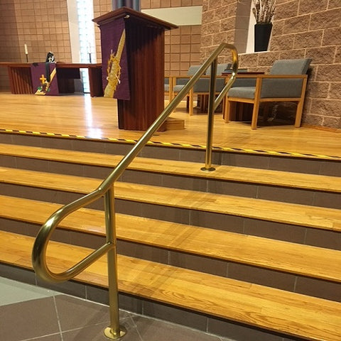 Removable Rails_Church Railing