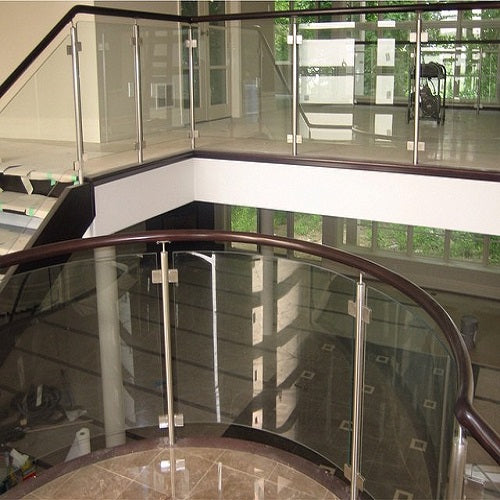 Glass Staircase railings