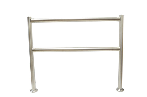 Removable Cart Corral Rails