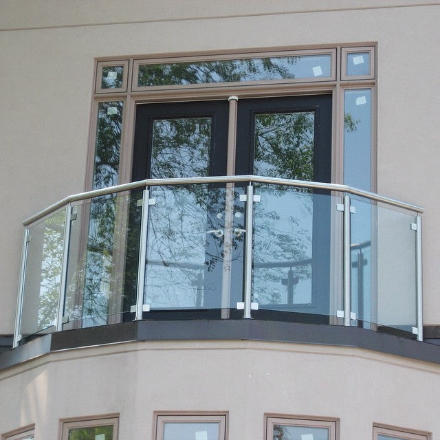 Residential balcony railings