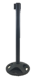 Outdoor Stanchion Posts - Black