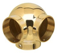 Ball 90 degree Side-Outlet Tee Brass