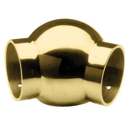 135 Degree Ball Elbow Through Brass