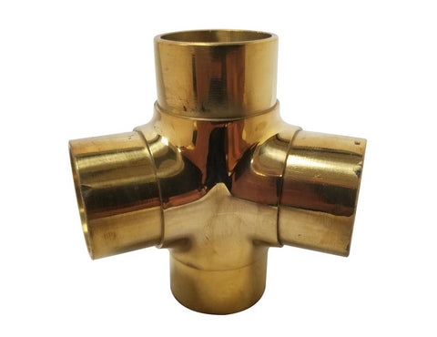 135 degree Side Outlet Tee Brass