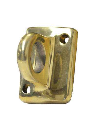Single Utility Hook Brass
