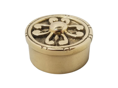 Decorative end Cap brass