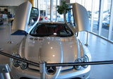 Mercedes showroom easy queue stanchions
