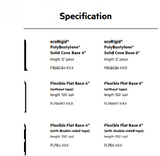 Vinyl cover base specification
