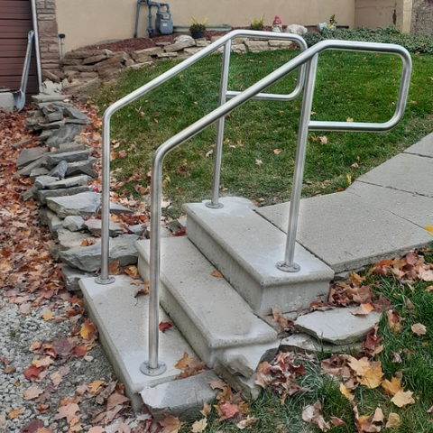 Outdoor Guard rails or Handrails