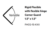 flexible vinyl corner guard 1.5""